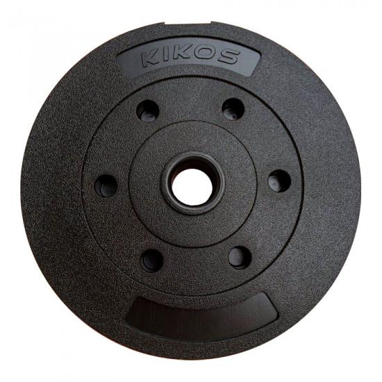 Anilha 10Kg Basic Cement Ps - Kikos (Previsão de Envio 18/12/2021)