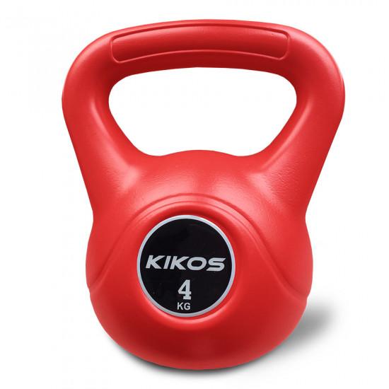 Kettlebell 4Kg Cement Ps - Kikos (Previsão de Envio 18/12/2021)