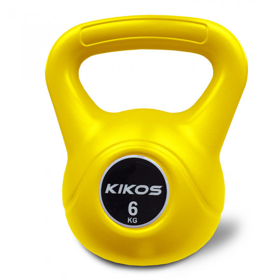 Kettlebell 6Kg Cement Ps - Kikos (Previsão de Envio 18/12/2021)