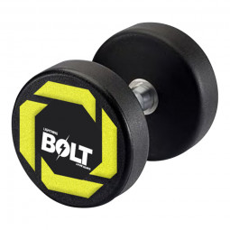Dumbell PU Lightning Bolt - 44Kg